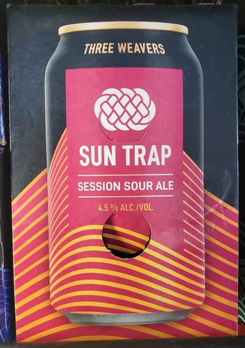 Three Weavers Sun Trap Session Sour Ale 12oz 6pk Cans