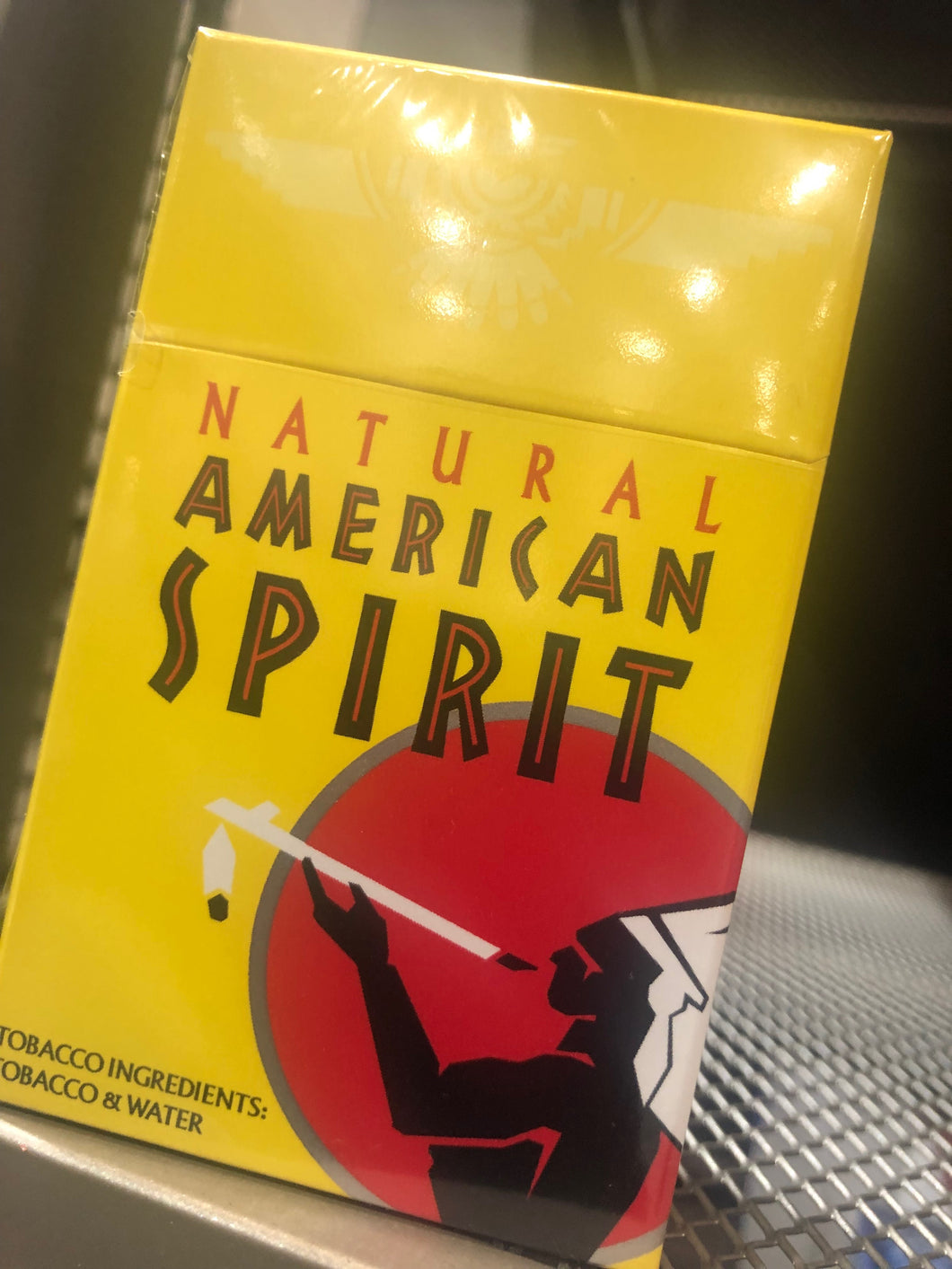 American Spirits Yellow