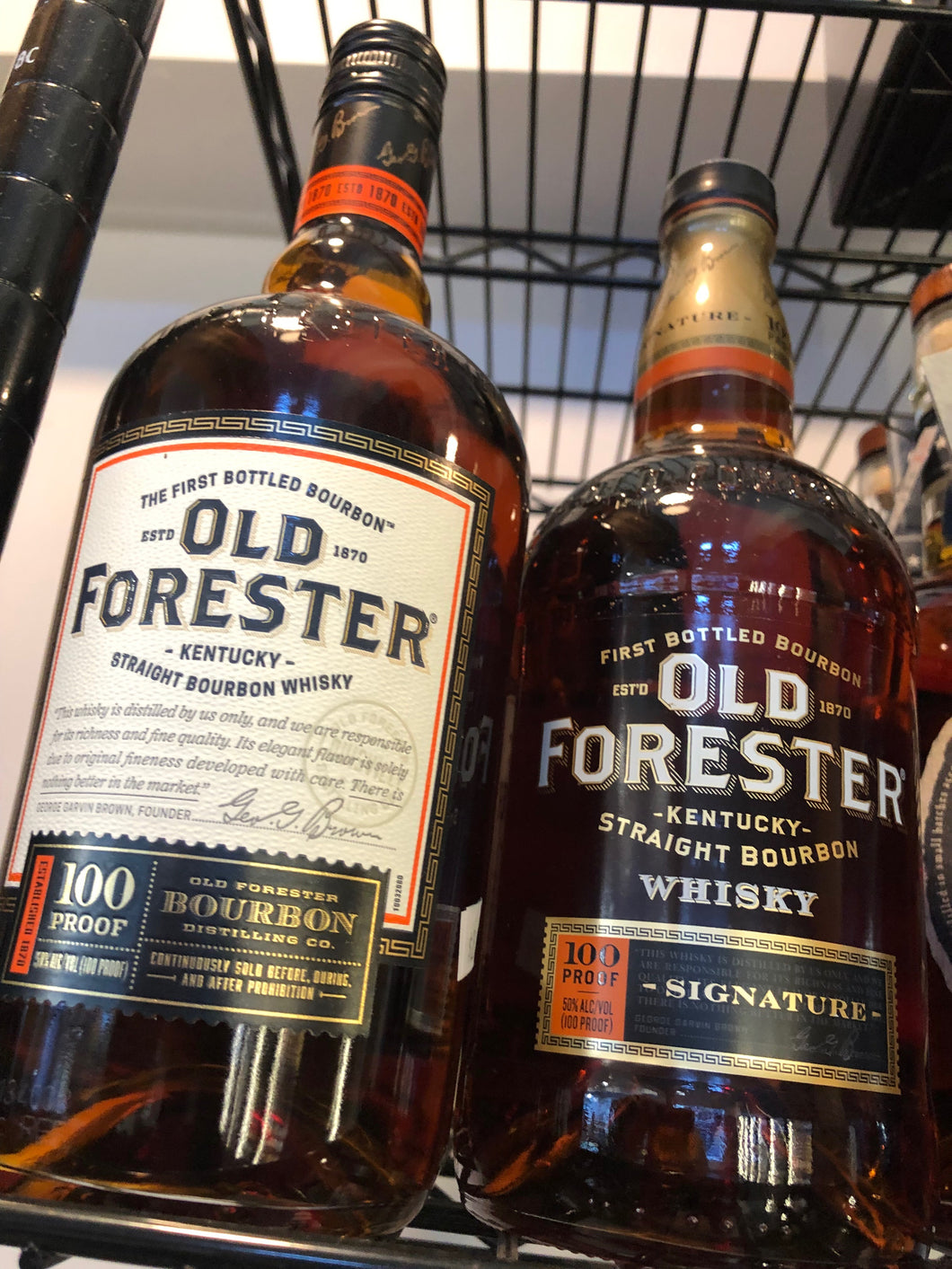 Old Forester 100 Proof Bourbon 750ml