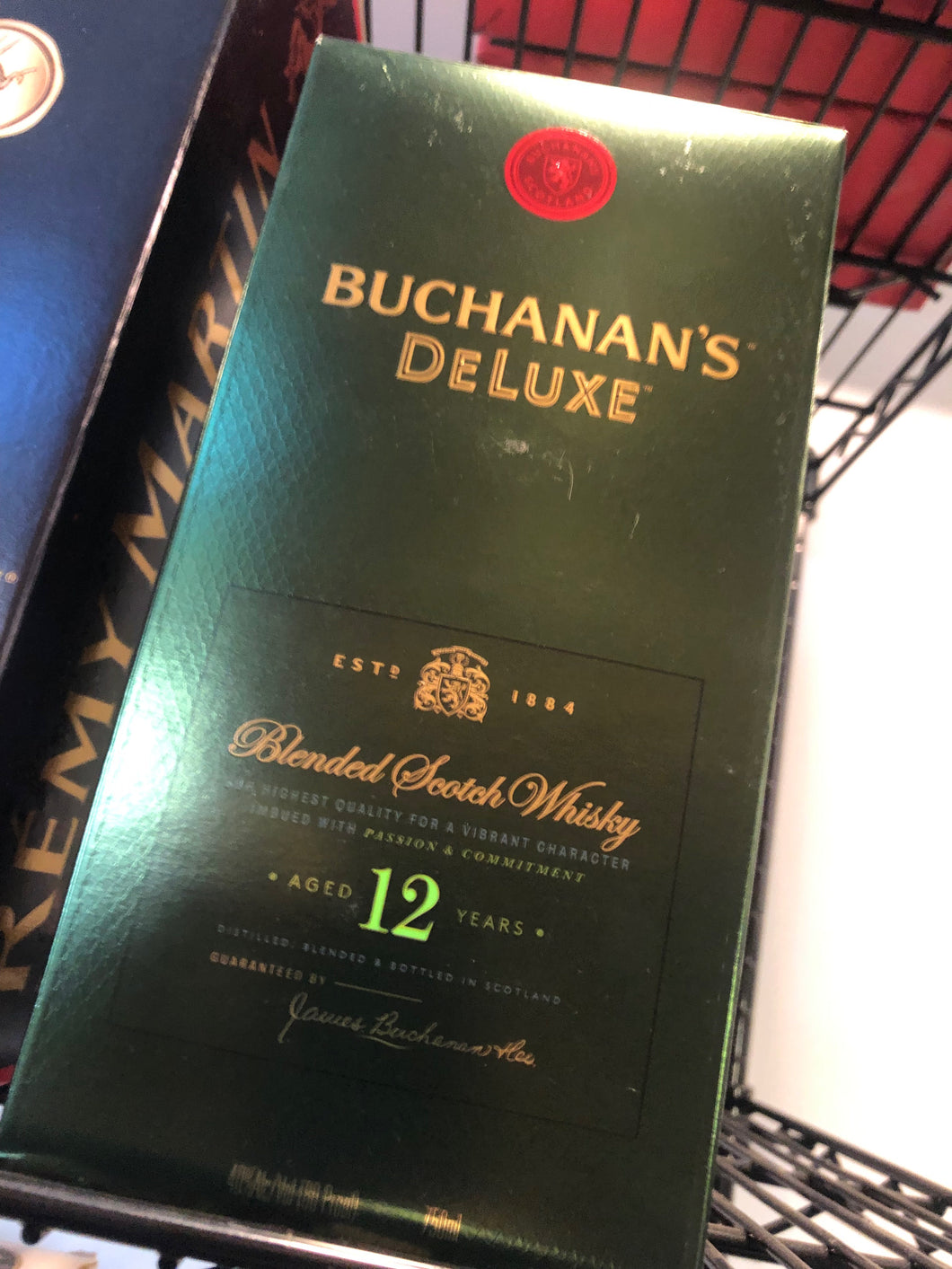 Buchannan's 12 Year Scotch