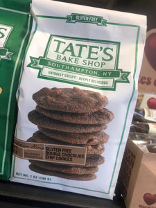 Tate's  Double Chocolate Gluten Free 7oz