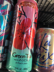 Arizona Green Tea with Ginseng & Peach Juice