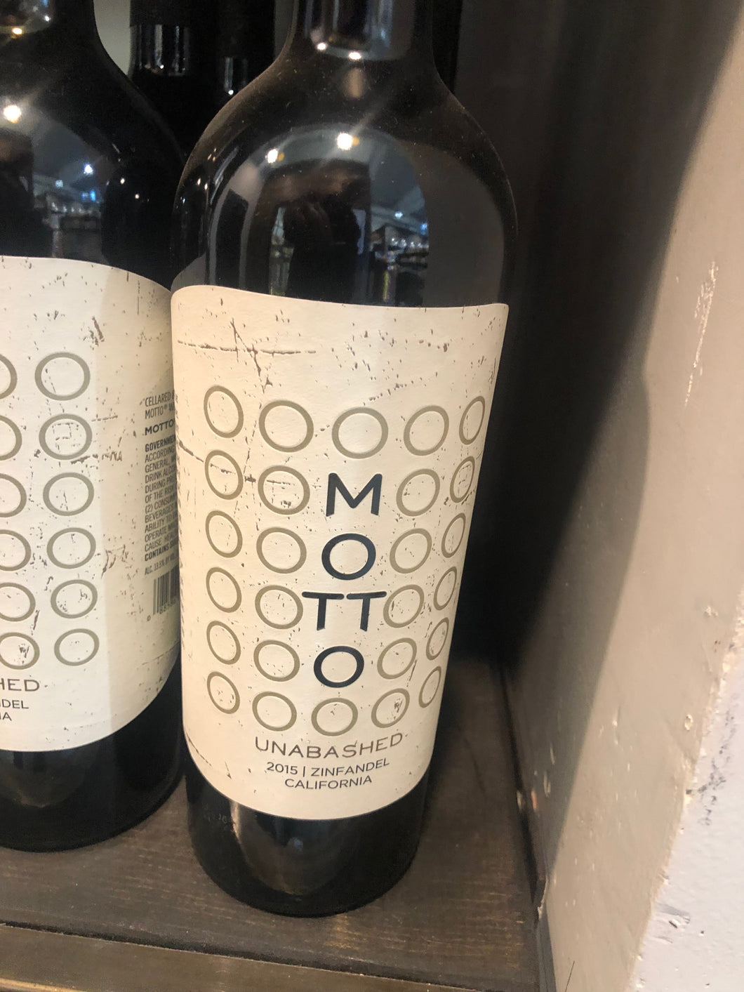 Motto Unabashed Zinfandel 2015