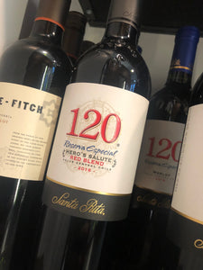120 Santa Rita Riserva Hero's Salute Red Blend 2016