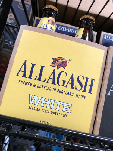 Allagash White 12oz Bottles 4 pk