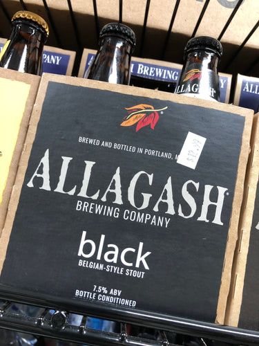 Allagash Black 12oz Bottles 4 pk