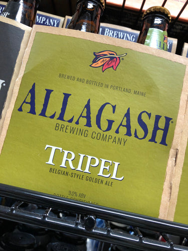 Allagash Tripel 12oz Bottles 4 pk