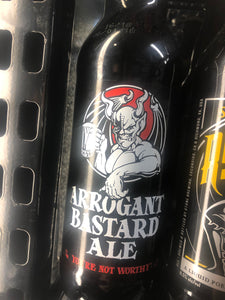 Stone Arrogant Bastard Bottle 22oz