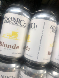 The Strand Brewing Co. Blond 12oz Cans 6 pk