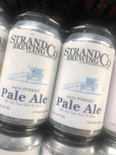 The Strand Brewing Co. 24th Street Pale Ale 12oz Cans 6 pk