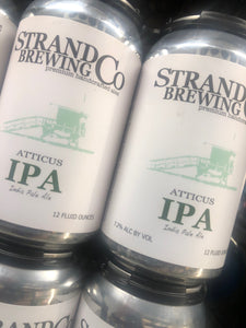 The Strand Brewing Atticus IPA 12oz Cans 6 pk