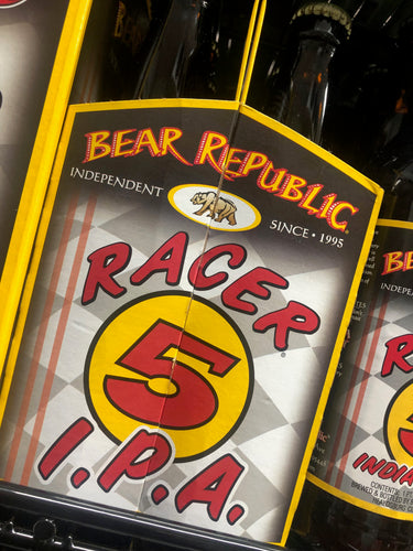 Bear Republic Racer 5 IPA 12oz Bottles 6 pk