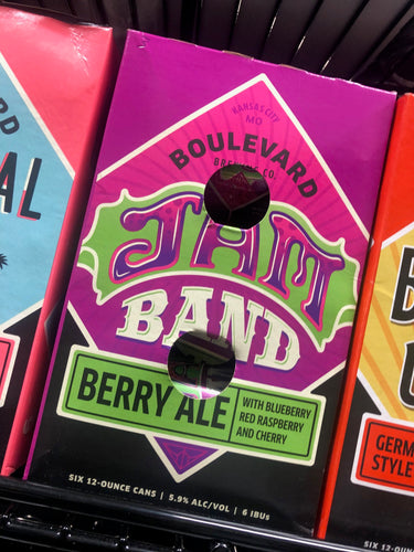 Boulevard Jam Band Berry Ale 12oz Cans 6 pk