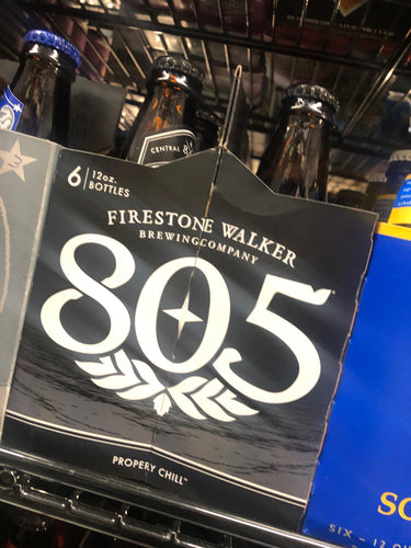 Firestone Walker 805 12oz Bottles 6 pk