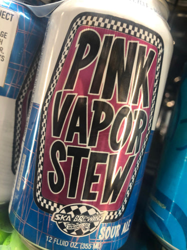 Ska Brewing Pink Vapor Stew Sour Ale 12oz Cans 6 pk