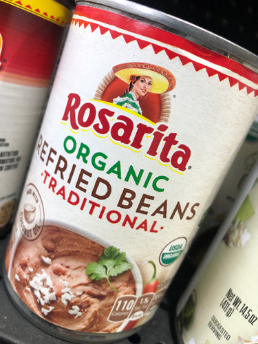Rosarita Organic Refried Beans Traditional