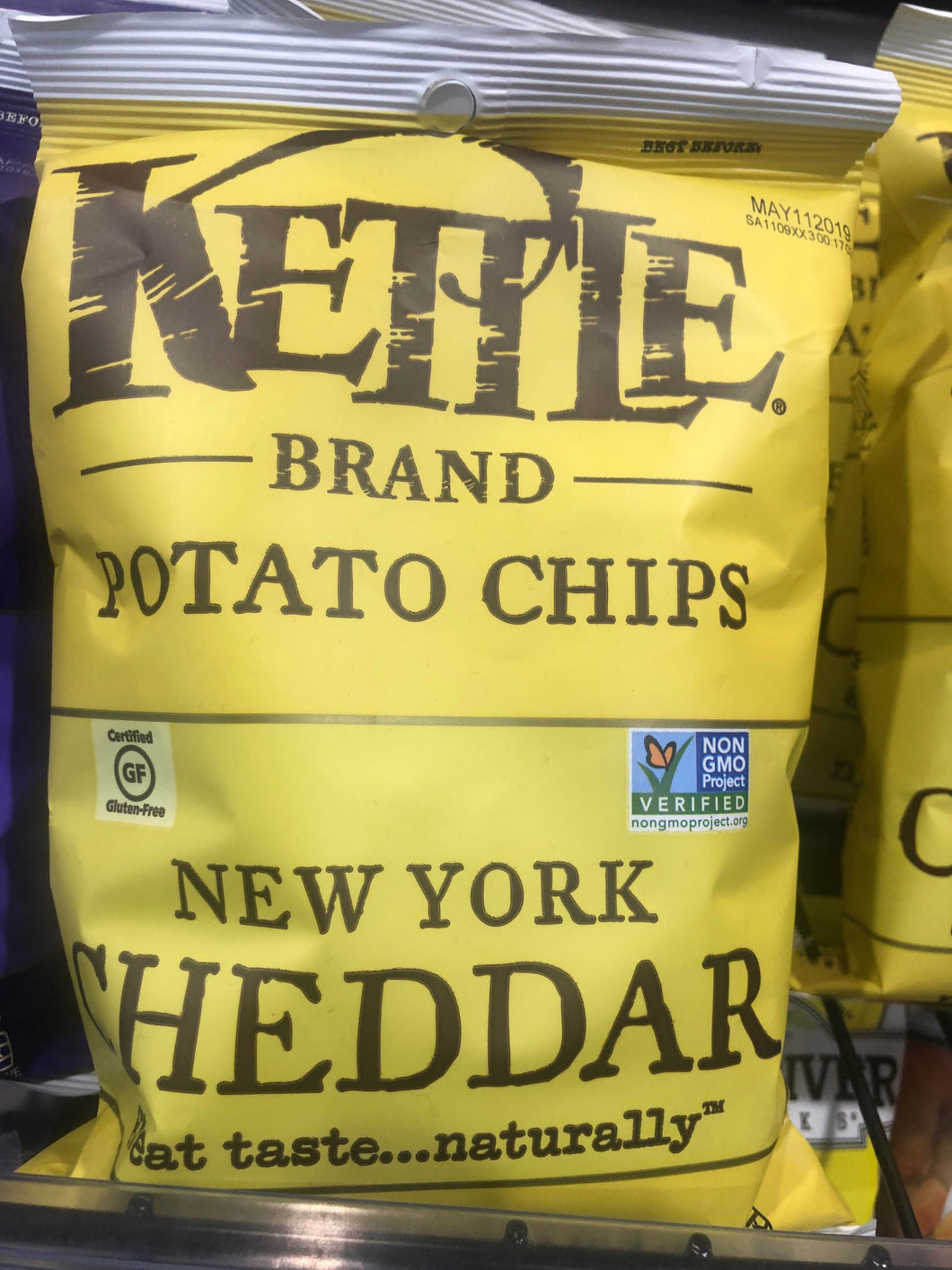 Kettle New York Cheddar 2oz