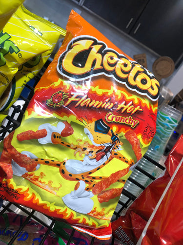 Cheetos Flamin' Hot Crunchy 8 1/2 oz