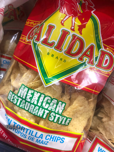 Calidad Corn Tortilla Chips 12 oz