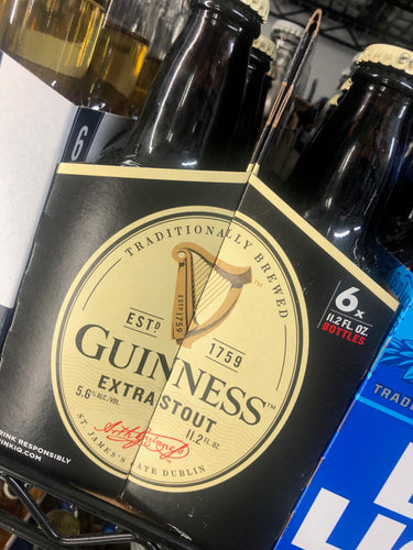 Guinness Stout 12oz Bottles 6 pk
