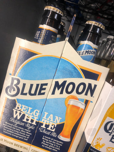 Blue Moon 12 oz Bottles 6 pk
