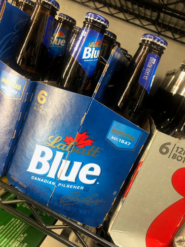 Labatt's Blue 12 oz Bottles 6 pk