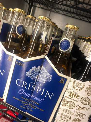 Crispin Apple Cider 12oz Bottles 6 pk