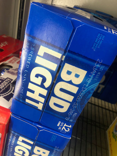 Bud Light 12 oz Cans 12 pk