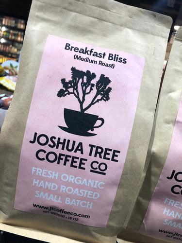 Joshua Tree Coffee Co. Breakfast Bliss 12 oz