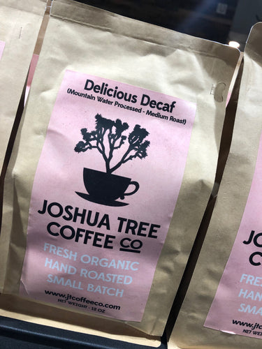 Joshua Tree Coffee Co. Delicious Decaf 12 oz