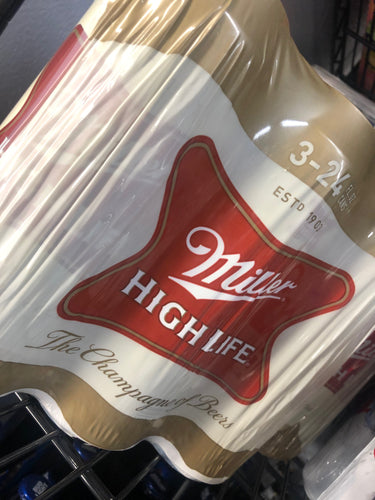 Miller High Life 16 oz Cans 3 pk