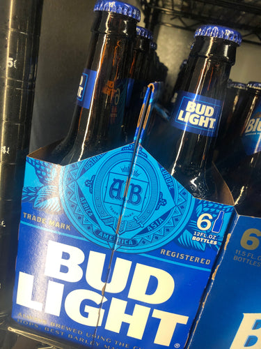 Bud Light 12 oz Bottles 6 pk
