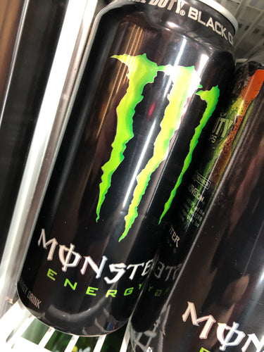 Monster Green 16 oz Can