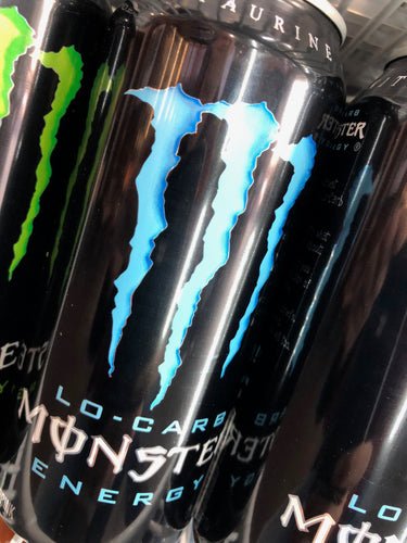 Monster Blue Lo-Carb 16 oz Can