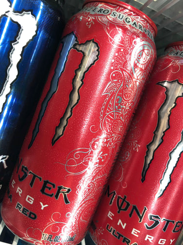 Monster Ultra Red 16 oz Can