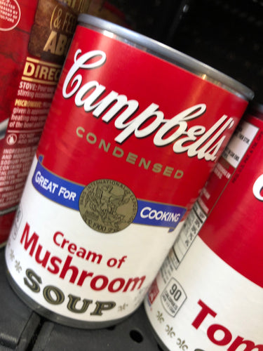 Campbell's Cream of Mushroom Soup 10.5 oz Can