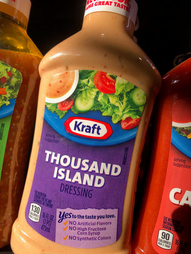 Kraft Thousand Island Dressing 16 oz