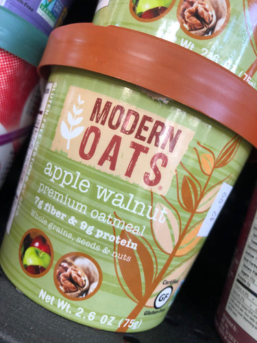Modern Oats Apple Walnut Oatmeal 2.6 oz