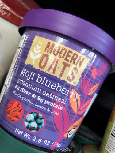 Modern Oats Gogi Blueberry Oatmeal 2.6 oz