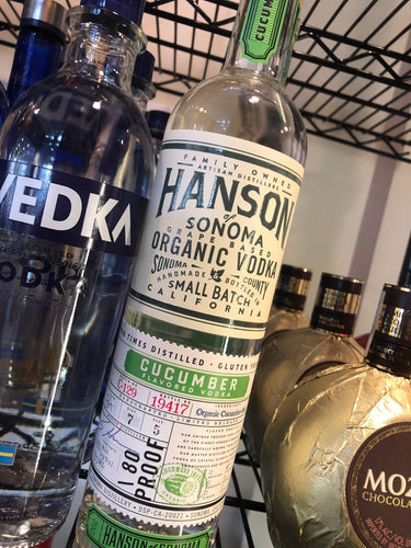 Hanson of Sonoma Organic Cucumber Vodka 750 ml