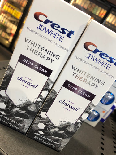 Crest 3D Whitening Therapy with Charcoal 4.1 oz