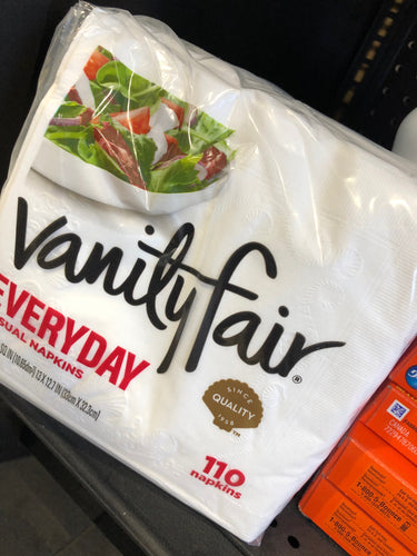 Vanity Fair Dinner Napkins 2 Ply (110)