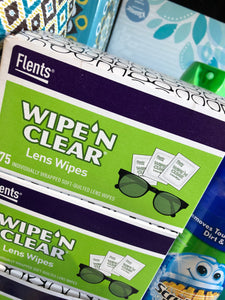 Wipe N Clear Lens Wipes (75)