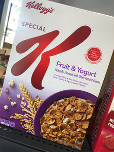Special K with Fruit & Yogurt Cereal 12.5 oz