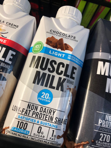 Muscle Milk Chocolate Light Protein Shake 11 oz