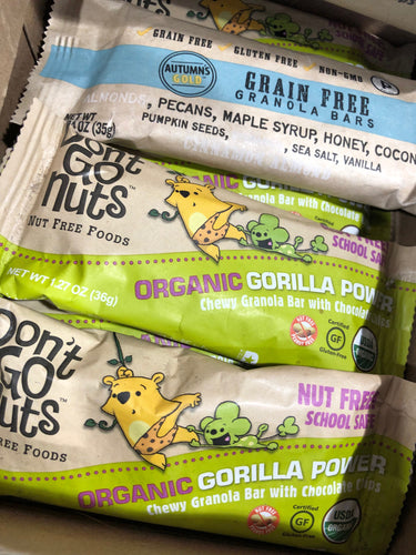 Don't Go Nuts Organic Chewy Granola Bar With Chocolate Chips