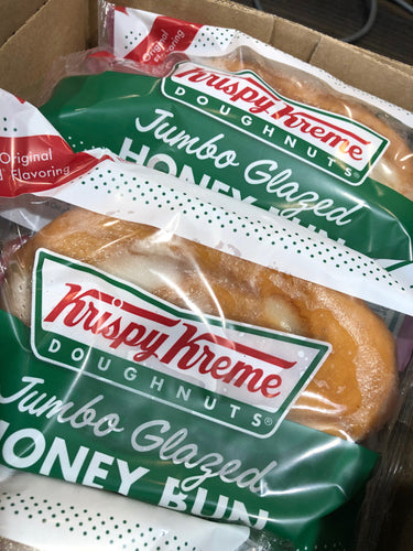 Krispy Kreme Jumbo Glazed Honey Buns