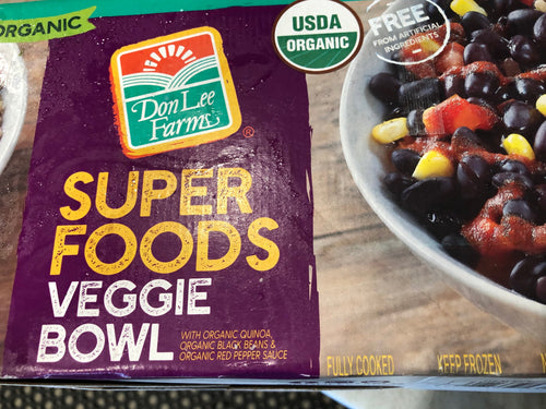 Super Foods Organic Veggie Bowl