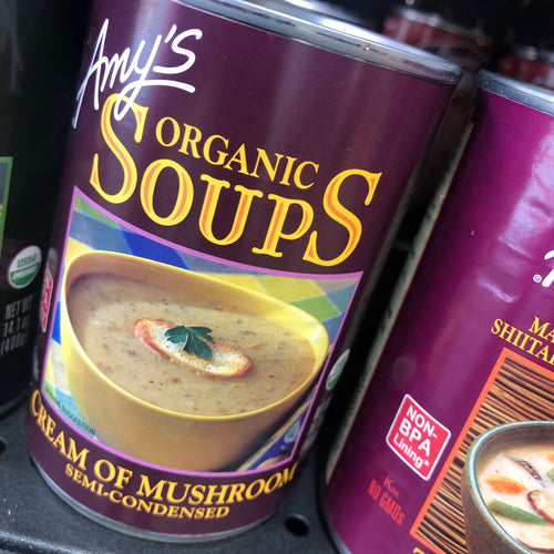 Amy's Organic Soups Cream of Mushroom