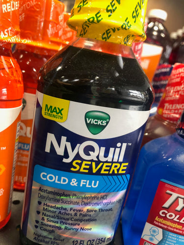 NyQuil Severe Cold & Flu 8 oz